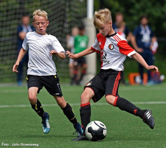 Feyenoord Academy teams actief in Europa in het weekend van 9 en 10 juni