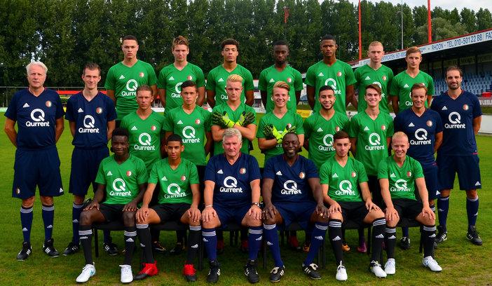 Feyenoord Onder 19 start voorbereiding op het seizoen 2017-2018