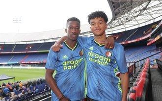 Feyenoord legt jonge talenten Ben-David dos Santos en 't Zand vast