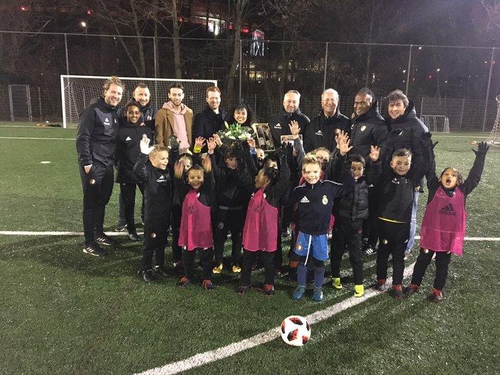 Van der Kraan en Boer 12,5 jaar werkzaam bij Feyenoord Academy
