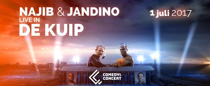 LinkedIn Winactie: Najib & Jadino Live in De Kuip!