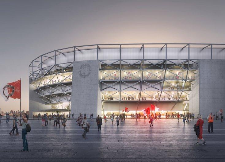 Stadionplan naar volgende fase