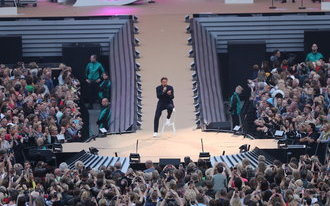 Record voor Borsato met elfde concert in De Kuip