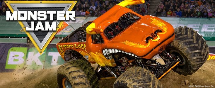 Mobiliteit Monster Jam