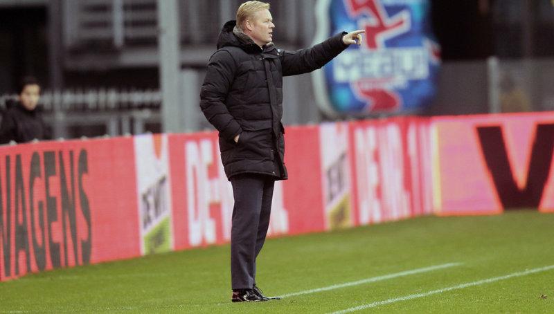 Koeman: 'Vertrouwen in positieve reactie van het elftal'