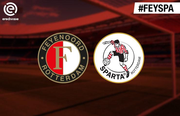 Voorbeschouwing Feyenoord – Sparta Rotterdam