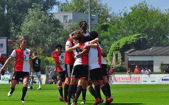 Feyenoord Onder 17 bekerwinnaar na twee goals Belarbi