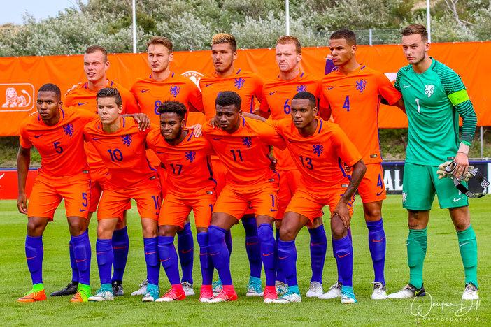 Feyenoorders winnen oefenduel met Ned O19 van KAA Gent O21