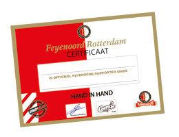 Officieel Feyenoord-certificaat