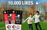 10.000 likes voor Feyenoord Soccer Schools op Facebook