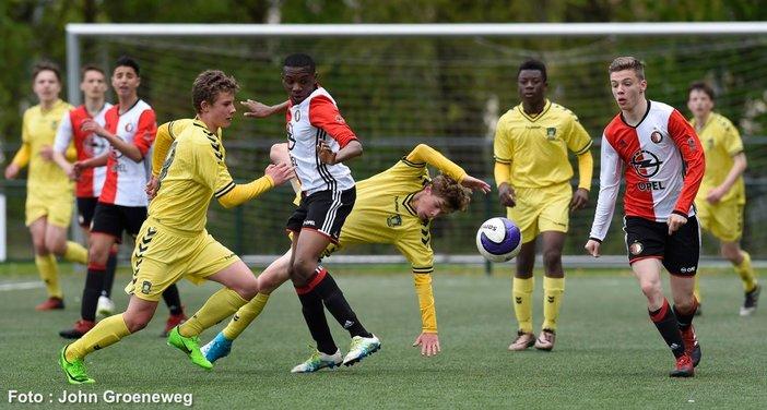 Feyenoord Academyteams actief op toernooien in Paasweekend Maandag update