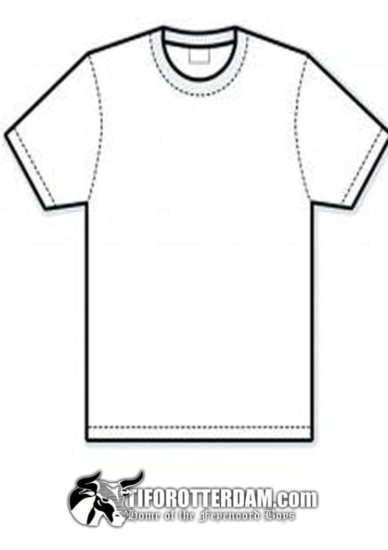 Kleurplaat Feyenoord Shirt Kleurplaten Tekeningen